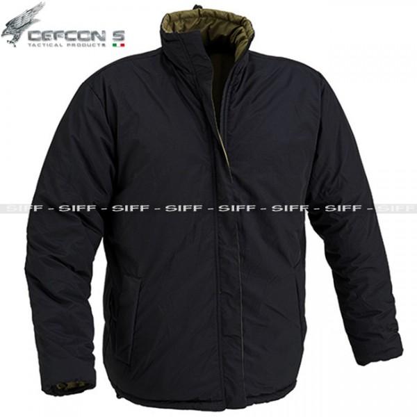 wholesale dealer 47daf e5a46 Giacca Reversibile NERO-OD DEFCON 5