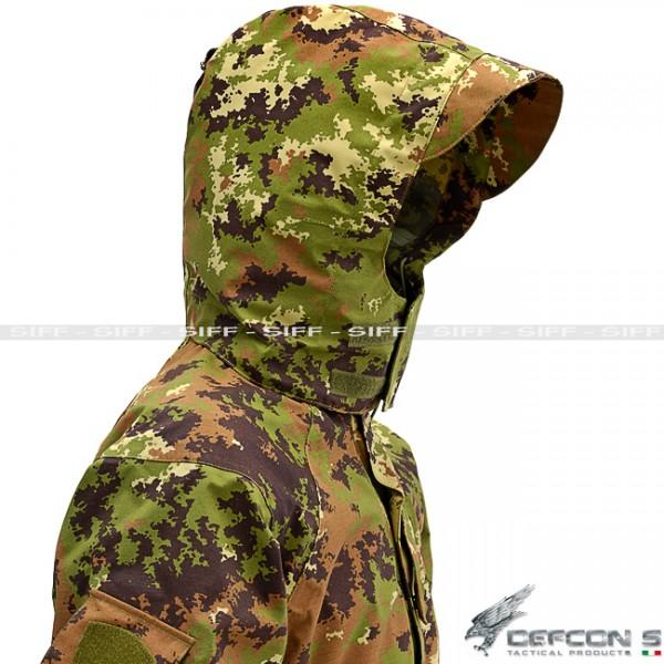 goretex militare italiano  DEFCON 5 Parka vegetato esercito italiano - Abbigliamento Militare