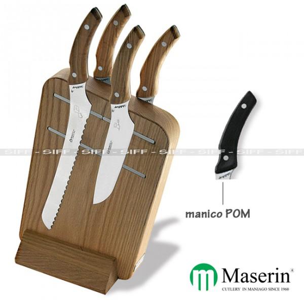 Ceppo coltelli cucina maserin da 4 pezzi magnetic siff - Coltelli da cucina ...